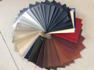 Материалы и цвета каркасных авточехлов